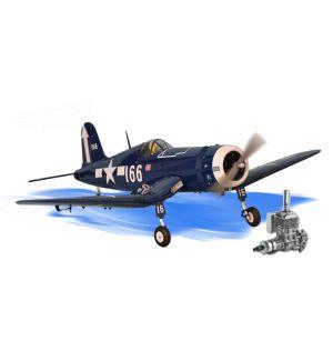 Phoenix Model F4U Corsair .91-120/22cc + DLE 20 Aeromodello riproduzione