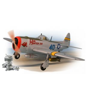 Phoenix Model P47 Thunderbolt 30cc + carrelli retrattili elettrici + DLE 35RA