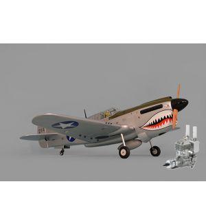 Phoenix Model P40 WARHAWK 30/35cc ARF + DLE 35 RA Aeromodello riproduzione