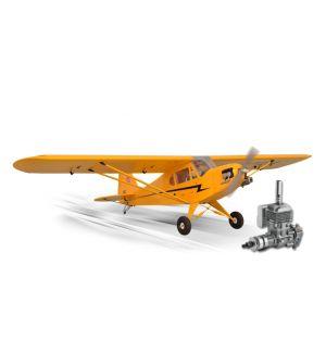 Phoenix Model Piper J3 CUB .120/20cc ARF + DLE 20 Aeromodello riproduzione