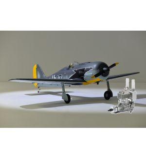Phoenix Model Focke Wulf 120/20cc ARF + DLE 20 RA Aeromodello riproduzione