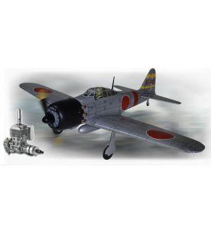 Phoenix Model Zero A6M 120/20cc ARF + DLE 20 Aeromodello riproduzione