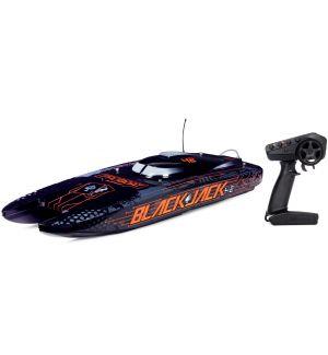 ProBoat Blackjack 42 8S Brushless Black/Orange Barca elettrica Catamarano RTR