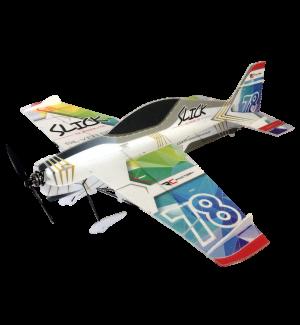 RC Factory Slick Superlite Vector Rainbow Aeromodello acrobatico
