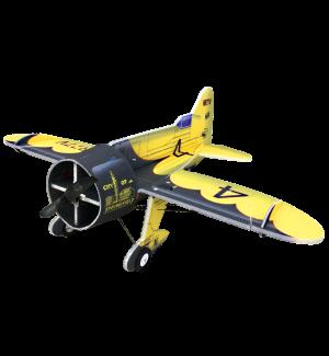 RC Factory Gee Bee Black/Yellow (Backyard Series) Aeromodello acrobatico