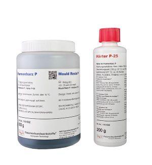 ReG Resina per stampi P + Induritore P-25 (20 Min.) 325g+80g