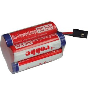 Robbe Batteria RX Ro-Power Loop 2500 mAh Nimh 4,8V spina JR a cubo