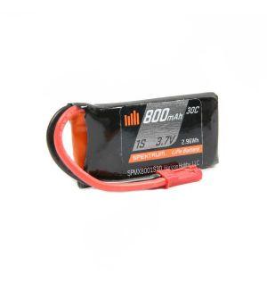 Spektrum Batteria Lipo 1S 800mAh 30C JST - SPMX8001S30