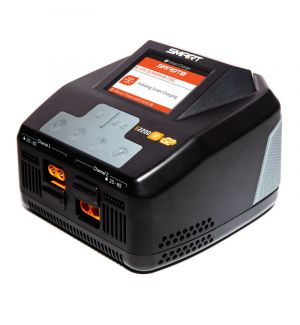 Spektrum S2200 G2 AC 2x200 1x380W Smart Charger 1-6S Caricabatterie 220V