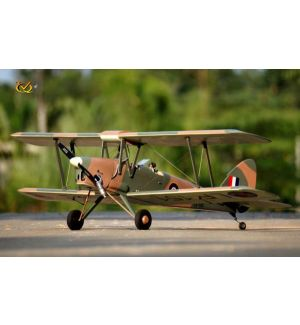 VQ Model Tiger Moth (mimetico) / 1400 mm Aeromodello riproduzione