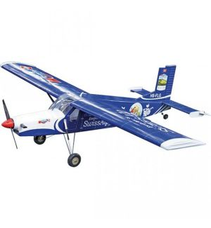 VQ Model Pilatus Porter V2 (Swiss Alps) / 1580mm Aeromodello riproduzione