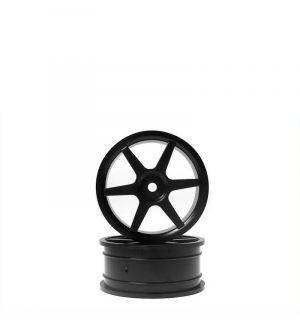 Kyosho Cerchi 15 razze 24mm neri 1:10 (2 pz) - VZH003BK