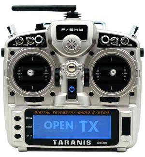 FrSKY X9D PLUS Taranis 2019 ACCESS - Silver Mode 1-3 solo TX Radiocomando