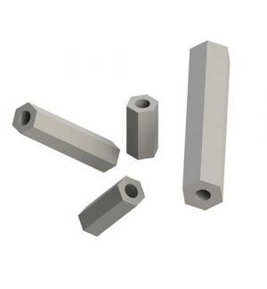 aXes Colonnine distanziali in nylon M3x8 (10 pz)