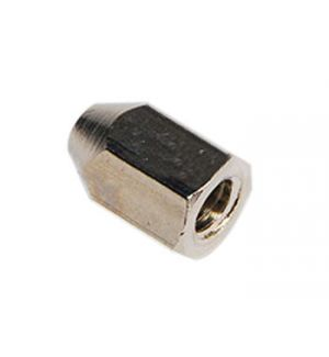 aXes 1/4x28-M5 spinner nut