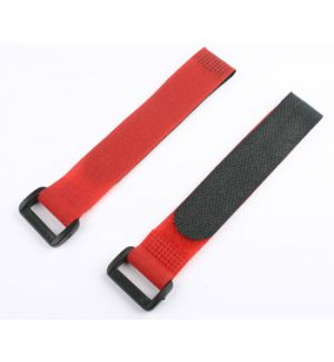 aXes 20x200mm Velcro strap red (2pcs)