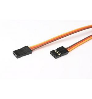 FullPower 15cm 26awg JR extension flat TWO MALE