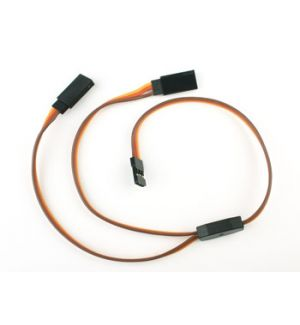 aXes 30cm 26awg JR Y extension flat