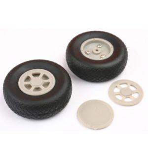 aXes 76mm diamond wheels plastic hub(2pcs)
