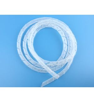 aXes 1mtx8mm spiral silicone tube