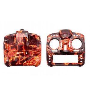 FrSKY X9D Taranis contenitore Blazing Skull (case)