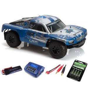 LRP S10 Blast SC 2 Brushless RTR 2.4GHz - 1/10 4WD Electric Short Course SUPER COMBO
