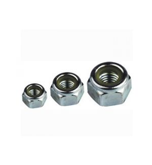 aXes M6 hexagon lock nuts (10pcs)