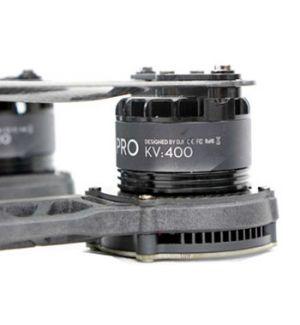 DJI S800 EVO Part.3 motore 4114 PRO (supp. pale nero)