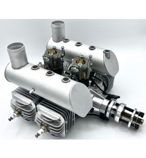 DLE DLE-120 cc T4 quadricilindrico Motore a scoppio 2T BENZINA