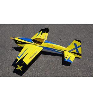 Extreme Flight Slick 580 60 V2 Giallo/Blu - 152cm Aeromodello acrobatico