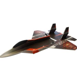 RC Factory F-22 Raptor / 730 mm Aeromodello acrobatico