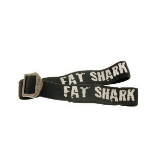 Fat Shark Black Head Strap per occhiali FatShark