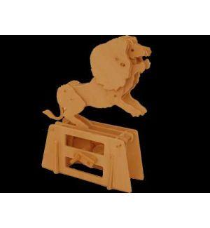Jonathan Automata Flatbis Lion in legno piatto da montare