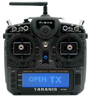 FrSKY X9D PLUS Taranis 2019 Special Edition ACCESS - Carbon Mode 1-3 solo TX Radiocomando