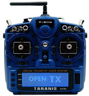 FrSKY X9D PLUS Taranis 2019 Special Edition ACCESS - Night Blue Mode 2-4 solo TX Radiocomando