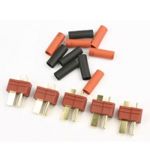 FullPower T-plug male connector 5 pcs