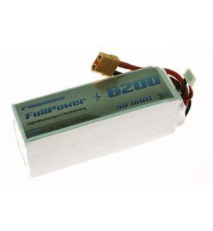 FullPower Batteria Lipo 5S 6200 mAh 90C PLATINUM - XT90