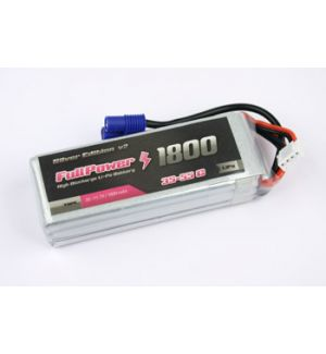 FullPower Batteria Lipo 3S 1800 mAh 35C Silver V2 - EC3