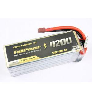 FullPower Batteria Lipo 5S 4200 mAh 50C Gold V2 - DEANS