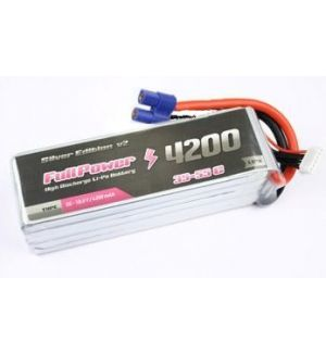 FullPower Batteria Lipo 6S 4200 mAh 35C Silver V2 - EC5