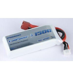 FullPower Batteria Lipo 3S 1500 mAh 90C PLATINUM - DEANS