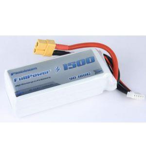 FullPower Batteria Lipo 4S 1500 mAh 90C PLATINUM - XT60