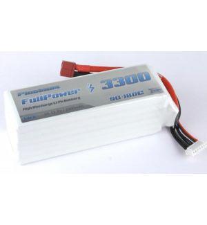 FullPower Batteria Lipo 6S 3300 mAh 90C PLATINUM - DEANS