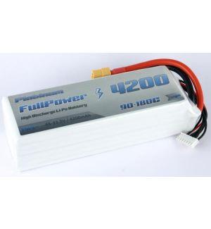 FullPower Batteria Lipo 6S 4200 mAh 90C PLATINUM - XT60