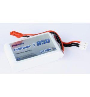 FullPower Batteria Lipo 2S 850 mAh 90C PLATINUM - BEC