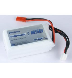 FullPower Batteria Lipo 3S 850 mAh 90C PLATINUM - BEC