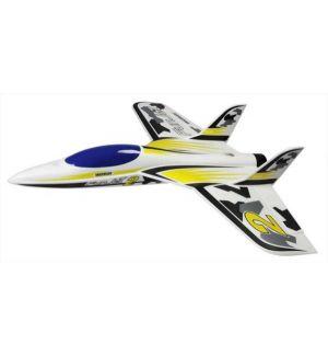 Multiplex FunJet 2 kit giallo/nero Aeromodello acrobatico