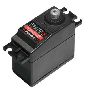 Futaba S3470SV MG (6,0-7,4V) - 9,6 (7,4V)-0,12 (7,4V) SBUS2 Servocomando standard