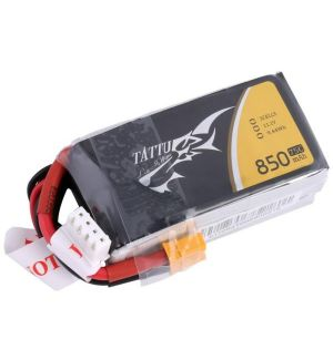 Tattu by Gens ACE Batteria Lipo 3S 850mAh 75C - XT60
