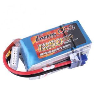 Gens ACE Batteria Lipo 6S 1250mAh 60C - EC3